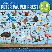 Pussel Fåglar, 1000 bitar