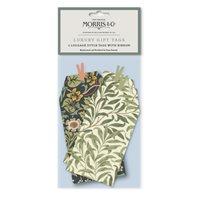 Presentetikett Morris grön 6-pack
