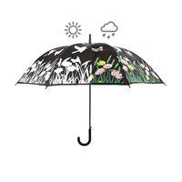 Paraply Trädgård, färgskiftande