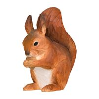 Squirrel Wood Carving
