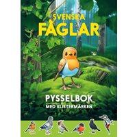 Svenska fåglar pysselbok