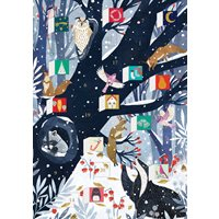 Julkort, Gammalträdet kalender