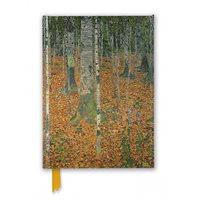 Anteckningsbok Gustav Klimt: The Birch Wood