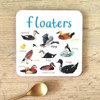 Glasunderlägg Floaters