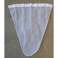Professional Hand Net Bag 40 cm White