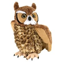 Soft toy Eagle owl 30 cm