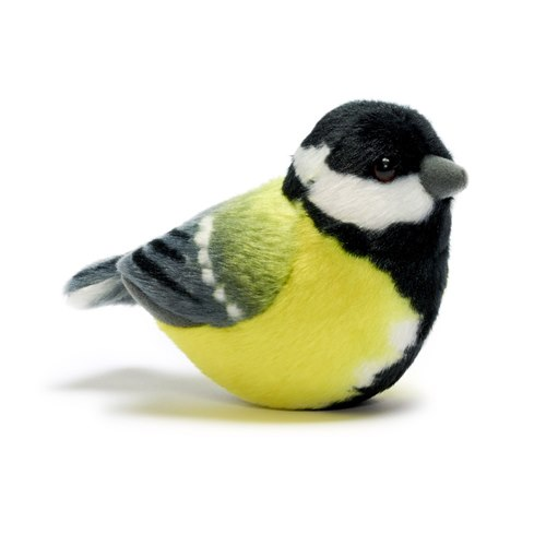 Singing Soft toy - Great tit