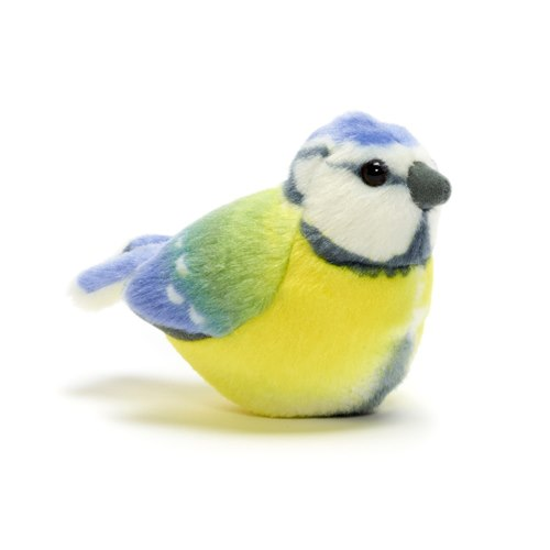 Singing Soft toy - Blue tit