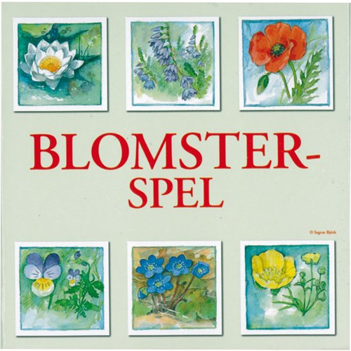 Memory Blomsterspelet