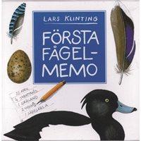 Memory Första fågelmemo (Birds)