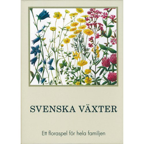 Svenska växter. Kortspel