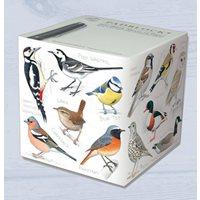 Blockkub med fåglar 800 blad