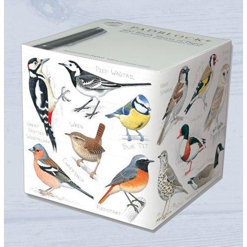 Padblock Cube with birds - 800 sheets