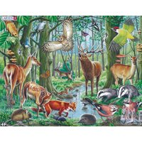 Puzzle Nordic Animals 2 Maxi 40 pieces