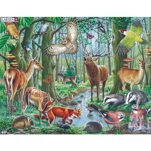 Puzzle Nordic Animals 2 Maxi 40 pieces