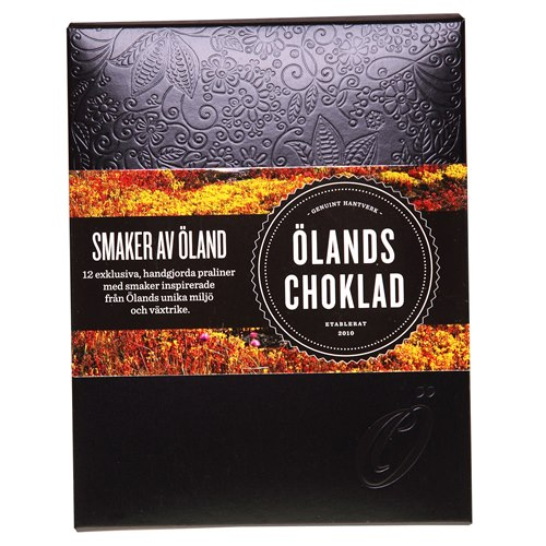 Smaker av Öland choklad