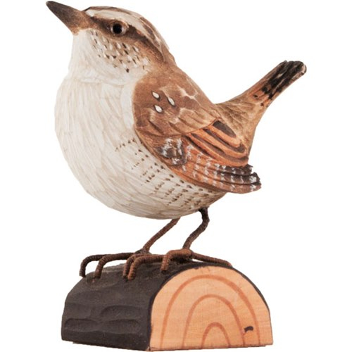 Wren Wood Carving