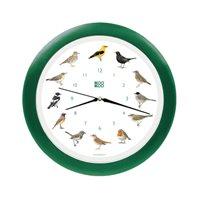 KooKoo Clock Songbird Green