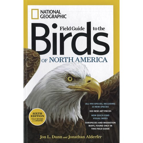 Field Guide to the Birds of North America (National Geographic)