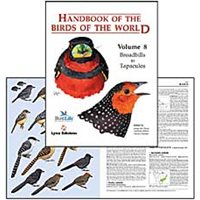 Handbook of the Birds of the World. HBW vol 8 (del Hoyo...)