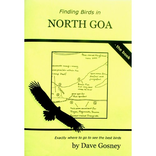 Finding Birds in North Goa - the Book (Gosney)