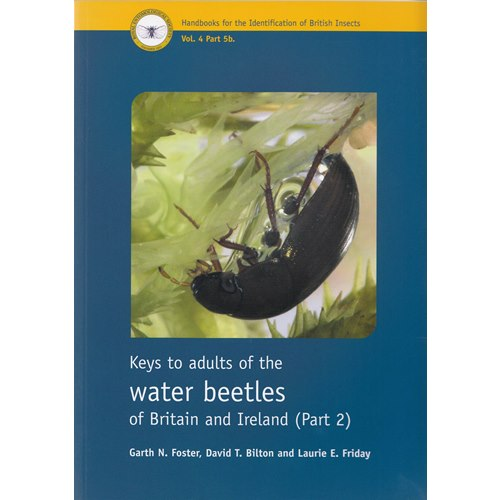 Keys to adults of the water beetles of Britain & Ireland, Part 2 (Foster, m.fl.)