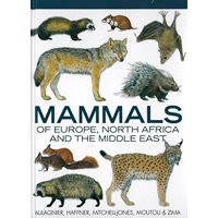 Mammals of Europe, North Africa & the Middle East (Aulagnier..)