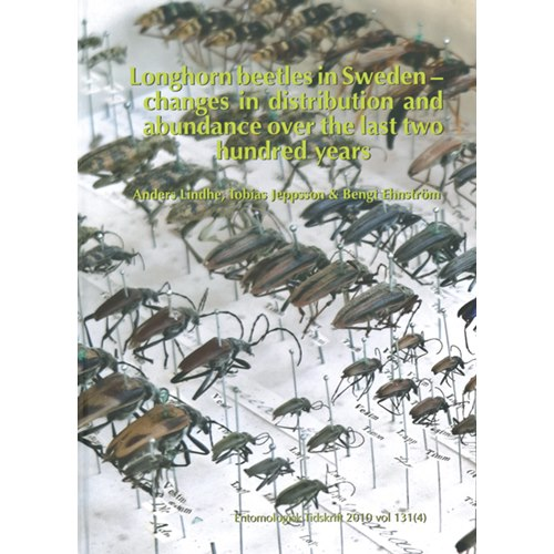 Longhorn Beetles in Sweden (Lindhe m.fl.) Changes & distribution
