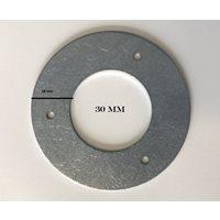 Holkring metall 30 mm hackspettskydd