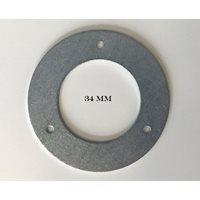 Holkring metall 34 mm hackspettskydd