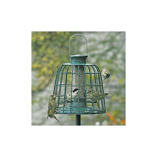 Seed feeder Guardian - with protective net