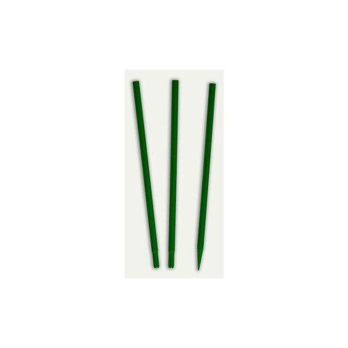 Pinne/stolpe för montering av foderautomat grön