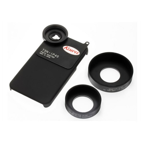 Kowa TSN-IP4S. iPhone 4-adapter