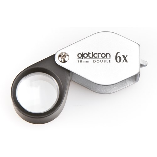 OPTICRON lupp 6x 18mm Douplet