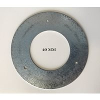 Nestbox Plate Metal 40 mm