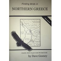 Finding Birds in Northern Greece - the Book (Gosney)