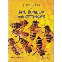 Lätta fakta om bin, humlor & getingar (Berghs)