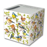 Padblock with birds on a branch