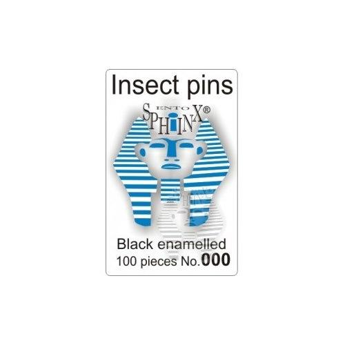 Insektsnålar svarta Nr 000