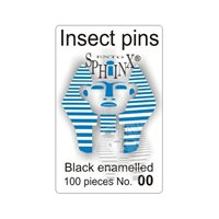 Insect Pins Black No 00