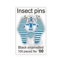 Insektsnålar svarta Nr 00