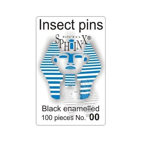 Insect Pins Black No 00