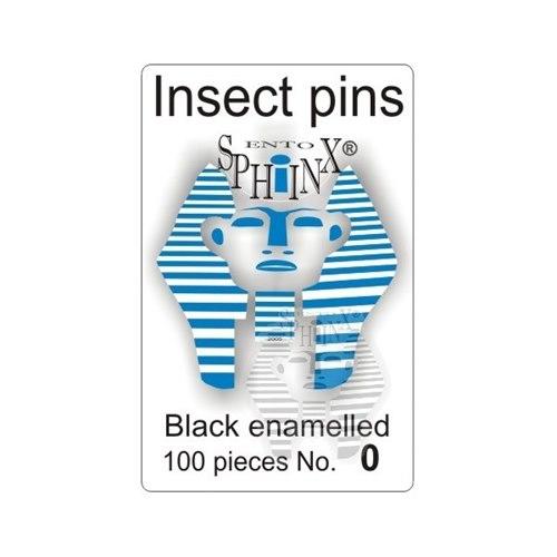 Insect Pins Black No 0