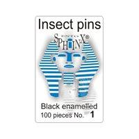 Insektsnålar svarta Nr 1