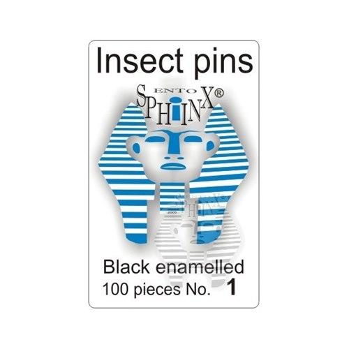 Insect Pins Black No 1