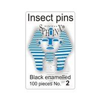 Insektsnålar svarta Nr 2