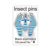 Insektsnålar svarta Nr 4