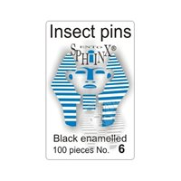 Insect Pins Black No 6