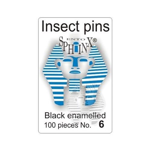 Insektsnålar svarta Nr 6