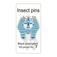 Insect Pins Black No 7